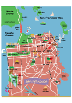 San Francisco Mini Icon Map